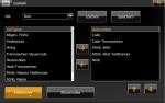 Auswahl der Elemente für den Export in separate Textlayer